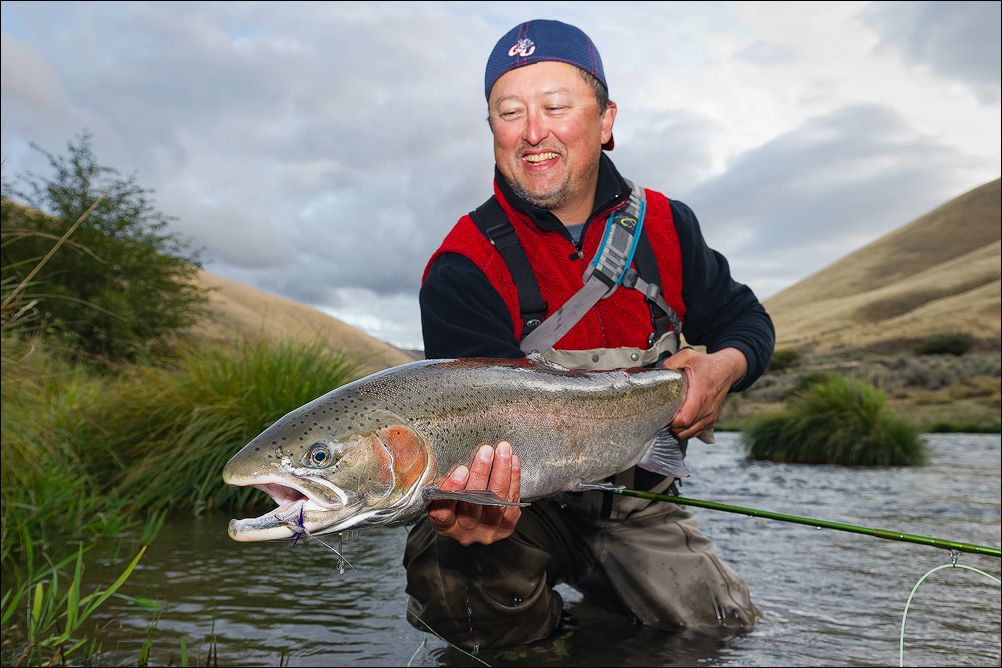 Oregon fly fishing report by larimer outfitters steelhead for Fishing report oregon
