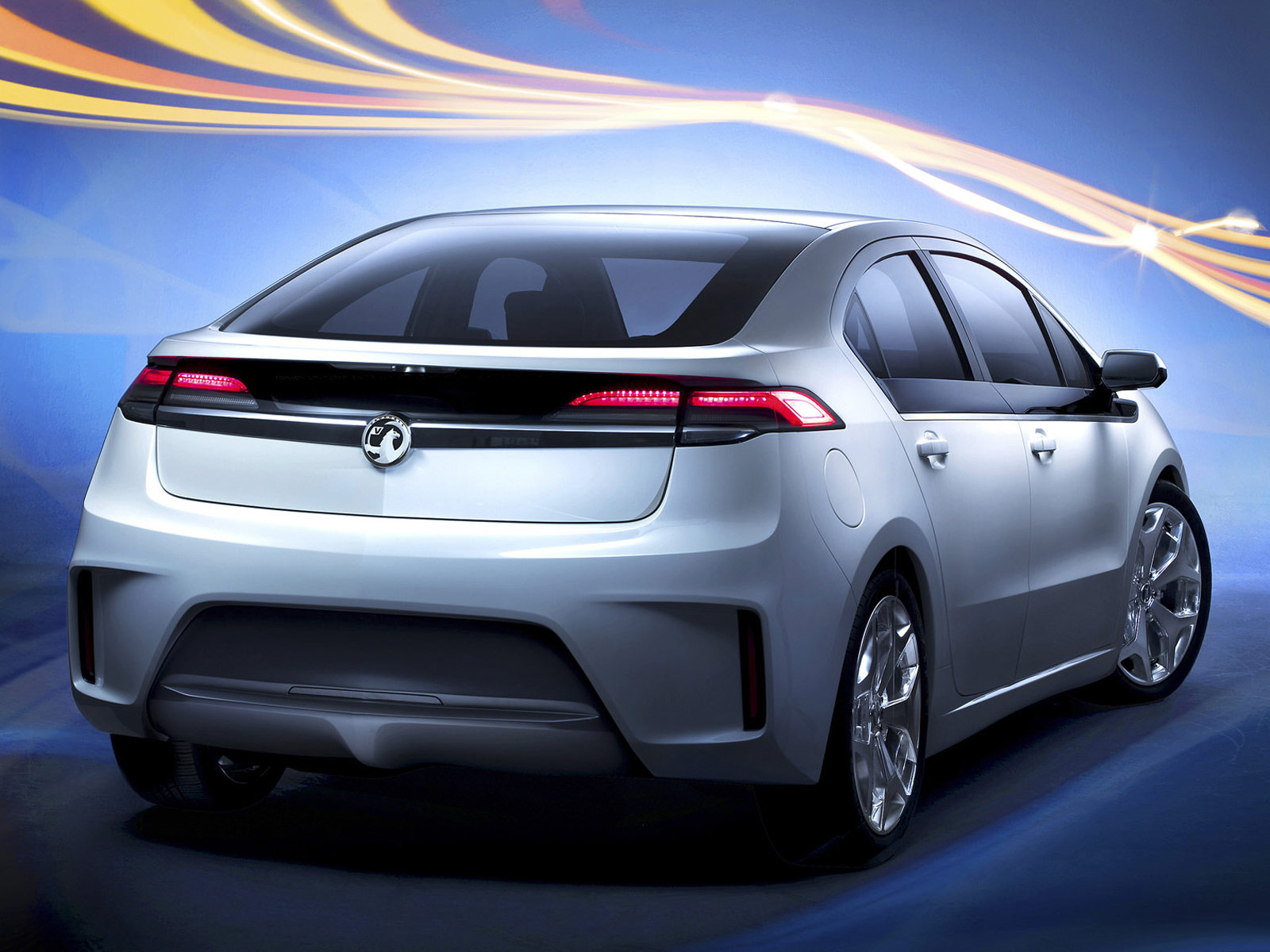 2012 Vauxhall Ampera car desktop wallpaper