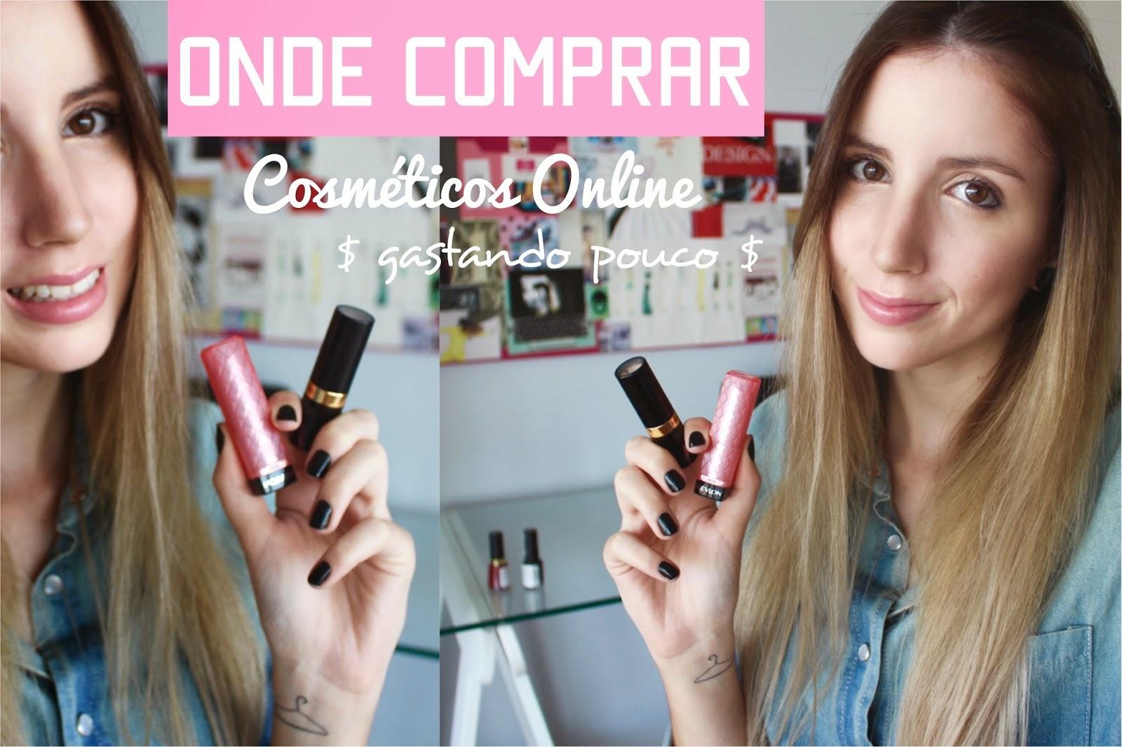 Onde comprar cosméticos online
