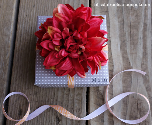DIY Mother's Day Gift Box @ Blissful Roots