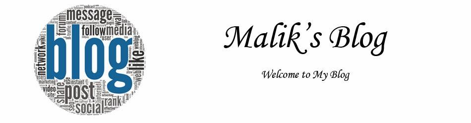 Malik's Blog