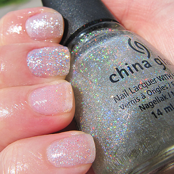 But It Does Shine Very Well When Used With A Top Coat Its Silver Small Glitter Lovely Not Dupe Tho
