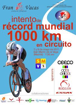 Record Mundial de los 1000 km en pista