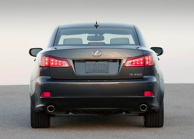 Rear view of 2011 Lexus IS350