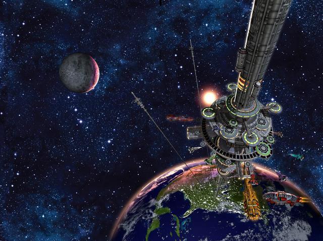 Resultado de imagen de El ascensor espacial de  Bradley C. Edwards