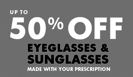 * In California, eye exams are available at LensCrafters locations from licensed optometrists employed by EYEXAM of California, a licensed vision health care service plan, or from Independent Doctors of Optometry at select locations. The optometrists are not employed by LensCrafters, which does not provide eye exams.