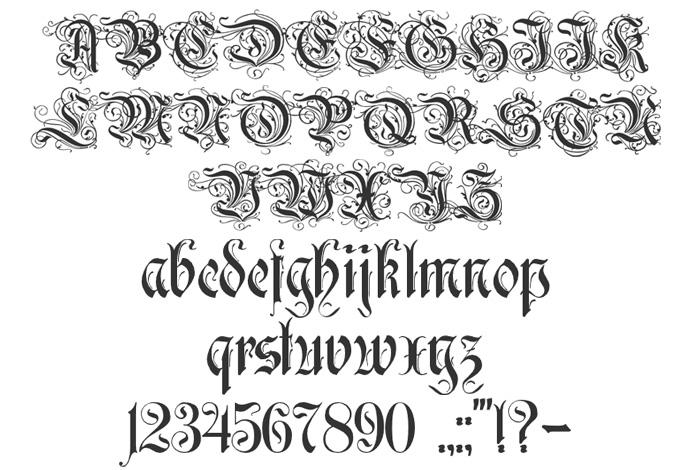 Monica's design: Typography Assignment- Decorative ...