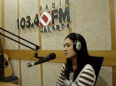 On air with 103,4 DFM,Program Inspirasi usaha,Jakarta siang with host : Vicky Ismaya on April 18th