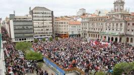 Ferrol: Manifestación xuño 2013