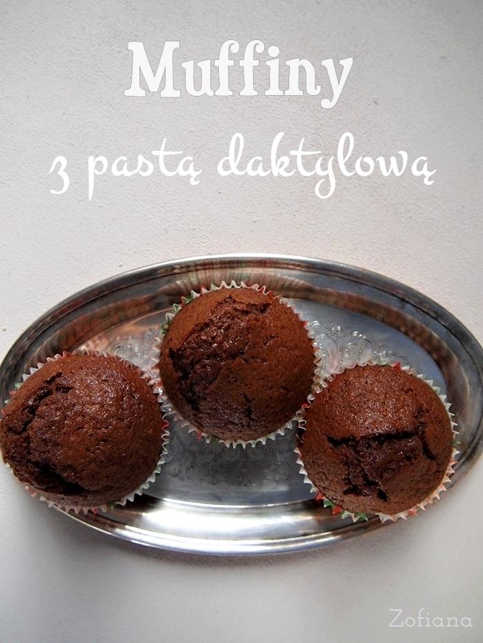 date paste muffin