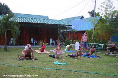 Yoga en Palau Tioman - Viaje a Malasia