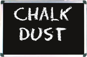Chalk Dust: Blackboard at S.U.