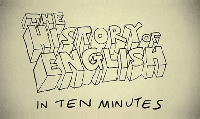 The History of English in 10 minutes [video]