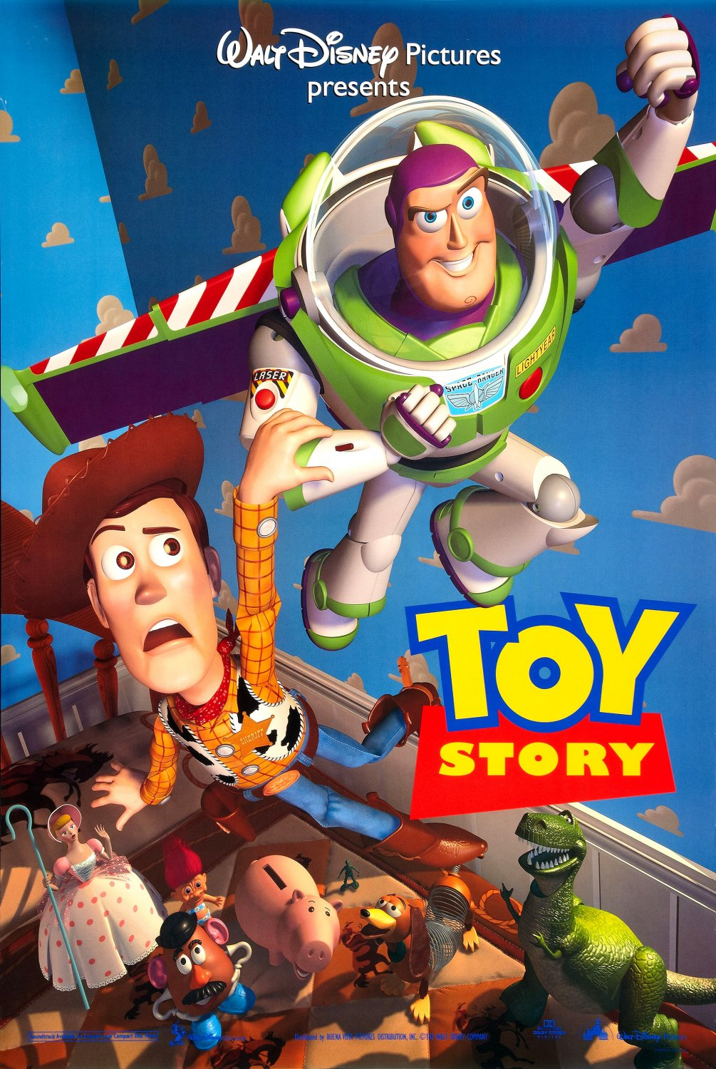 the geeky nerfherder movie poster art toy story 1995