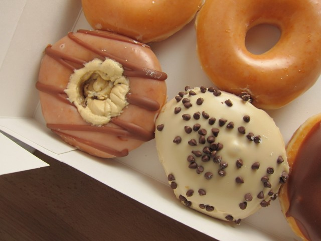 Review: Krispy Kreme - Chocolate Chip Cookie Dough and ...