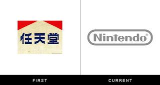 évolution du logo nintendo