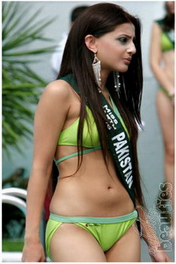 Miss Pakistan In Bikini
