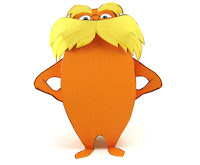 The LORAX Papercraft Model