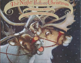 bookcover of THE NIGHT BEFORE CHRISTMAS  Illustrated by Bruce Whatley