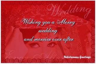 ... adalah beberapa contoh kartu ucapan pernikahan yang bisa anda pakai