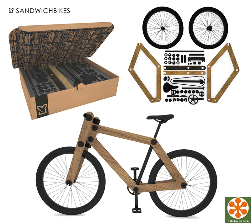 The First Flat Packed Wooden Bike You Assemble Yourself The