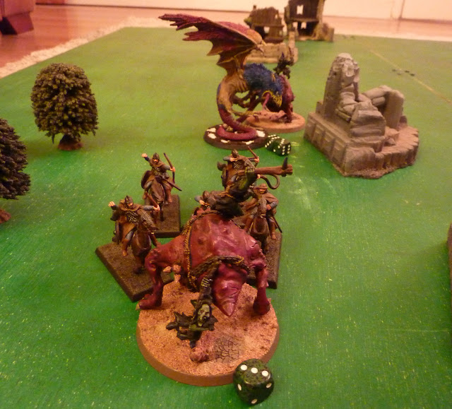 Age of Sigmar battle report between Moonclan Grots and Chaos Mortals.