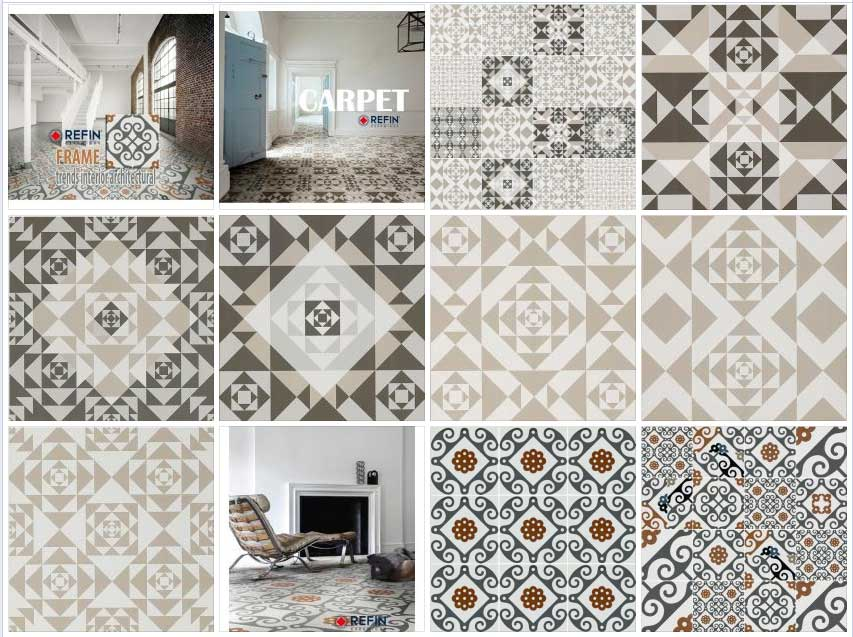 Italian Painted Tiles For Kitchen
