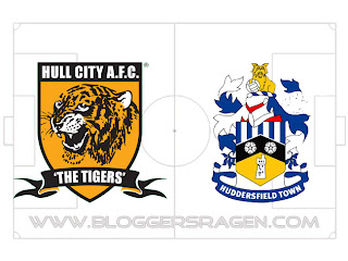 Pertandingan Hull City vs Huddersfield Town