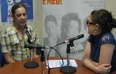 Na SJ Rádio com Afonso Guerreiro
