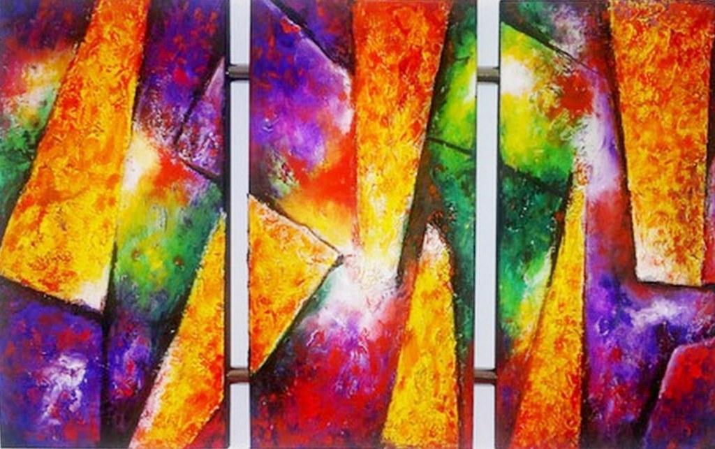 cuadros abstractos faciles de pintar imagui