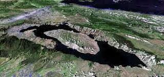 Cráter Volcán Lago Toba