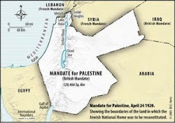 Mandate for Palestine(Israel)