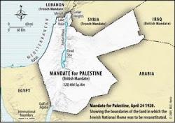 Mandate for Palestine(Israel)