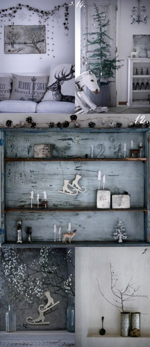 i heart shabby chic rustic christmas decor update 2011 wwwshabbycottageboutique. Black Bedroom Furniture Sets. Home Design Ideas