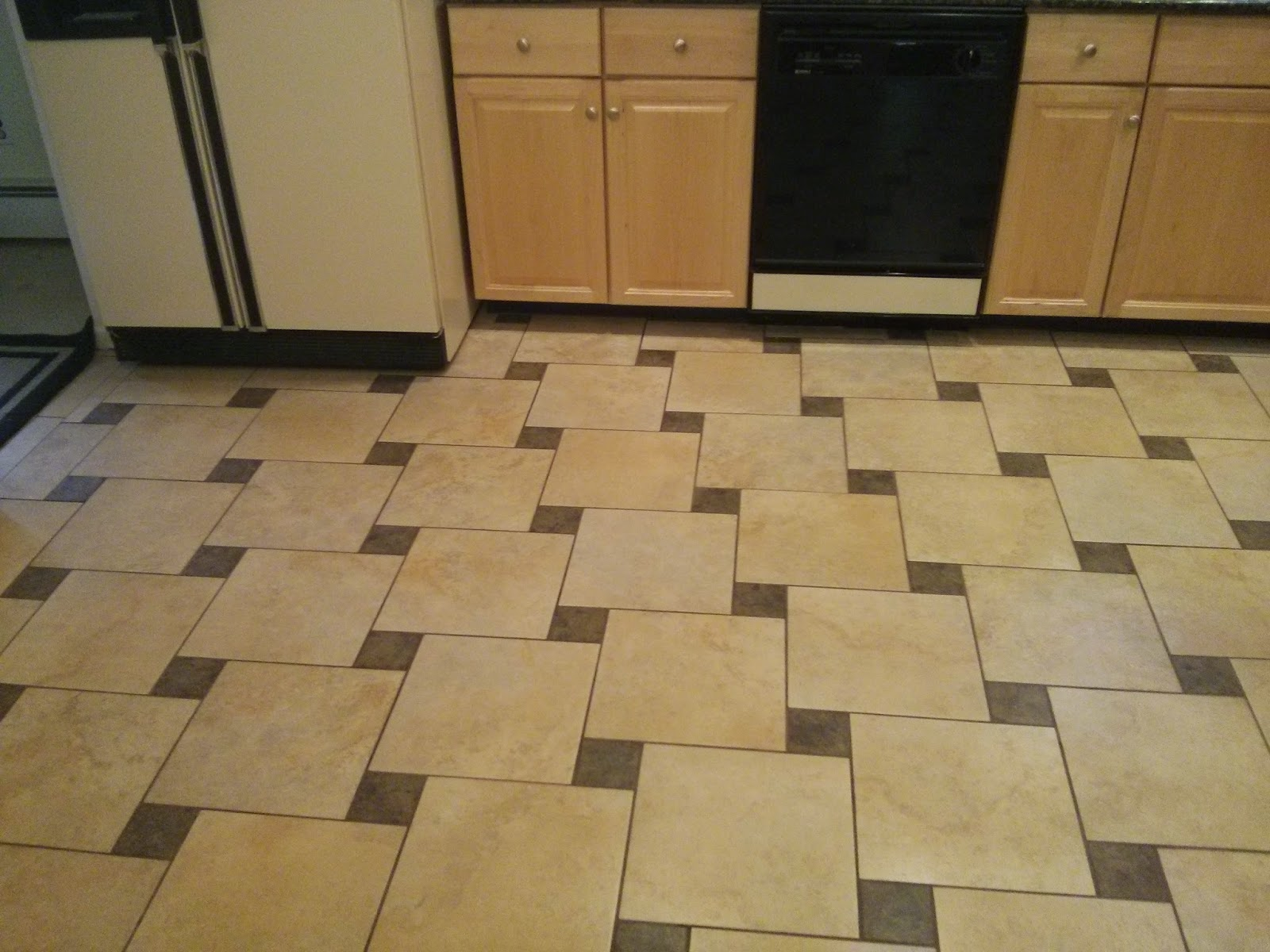 Floor installation photos may 2014 12x12 and 4x4 pinwheel pattern tile install in newtown dailygadgetfo Choice Image