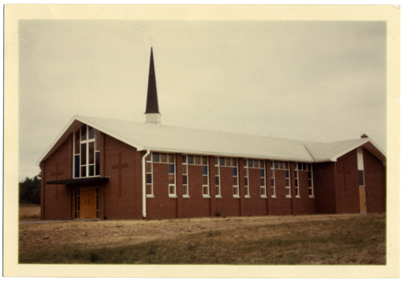 Sacred Heart Church as it was in 1963.