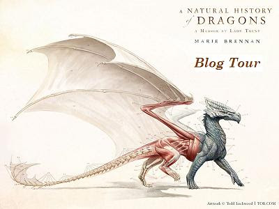 a natural history of dragons blog tour