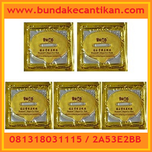 LIP MASK GOLD COLLAGEN MASKER BIBIR 081318031115
