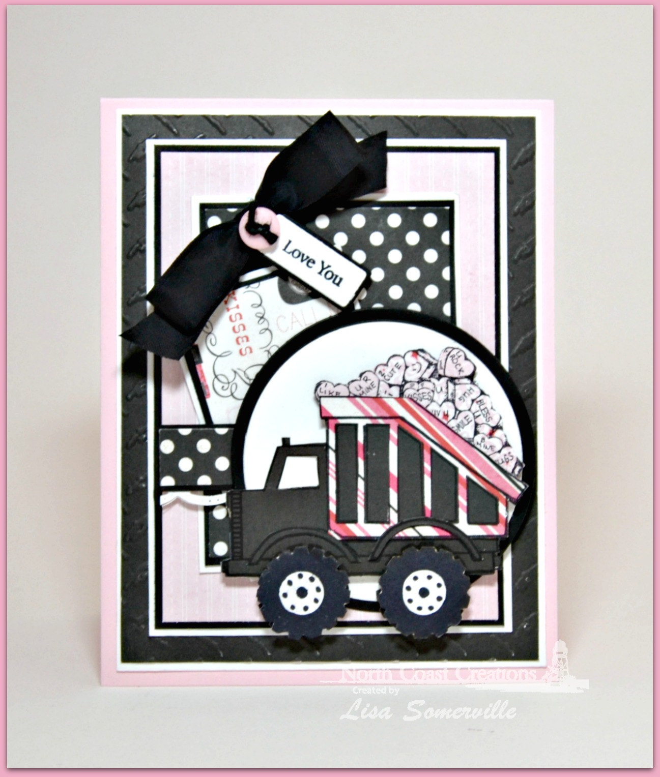 Stamps - North Coast Creations Dump Truck Birthday, Our Daily Bread Designs Mini Tag Sentiments, Our Daily Bread Designs Canning Jar Fillers, Our Daily Bread Designs Custom Mini Tags Dies, Our Daily Bread Designs Custom Matting Circles Dies, Our Daily Bread Designs Custom Circle Ornaments Dies, Our Daily Bread Designs Custom Beautiful Borders Dies