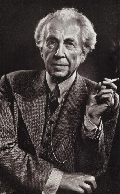 Retrato de Frank Lloyd Wright