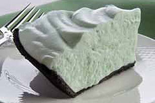 Dying for Chocolate: Grasshopper Pie: Chocolate Mint Pie Day