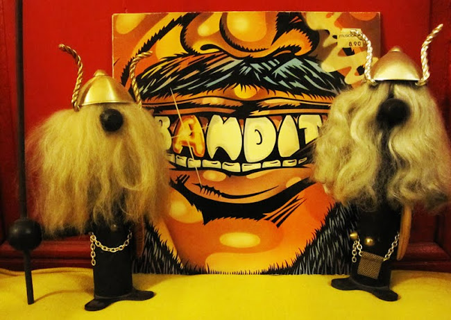 Bandit - Hard on a loser - 1976 Arista records AC/DC band member Cliff Williams (bass).