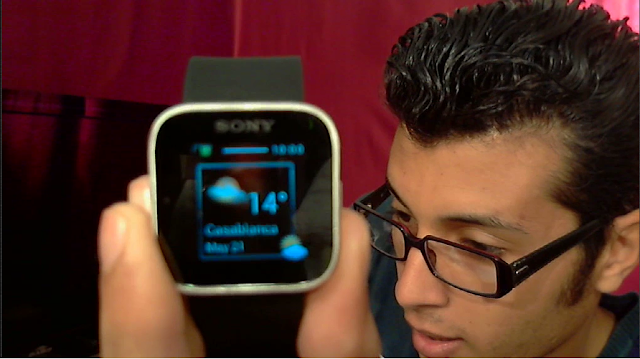 ساعة Sony smart watch