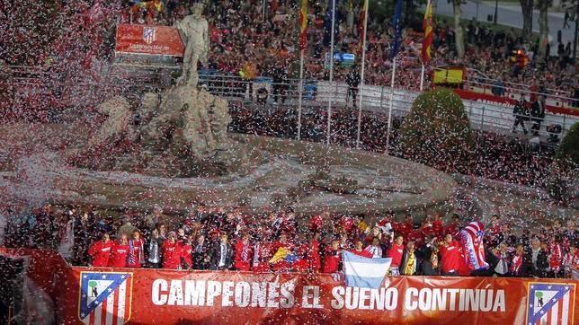 El Atlético de Madrid campeón de la liga BBVA 2013-2014