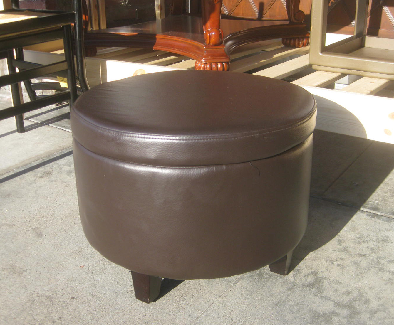 uhuru furniture collectibles sold chocolate brown
