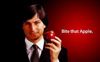 Bite That Apple Steve Jobs HD Wallpaper