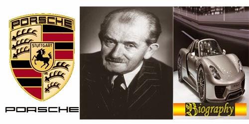 Biography of Ferdinand Porsche~Founder of Porsche Car Company ... on
