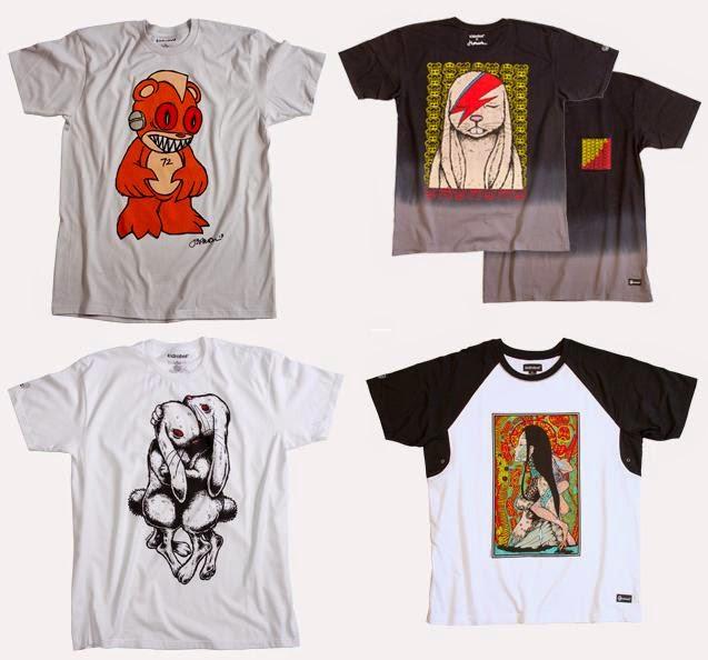 8320fd2b2e4f The Blot Says...  Jermaine Rogers x Kidrobot T-Shirt Collection