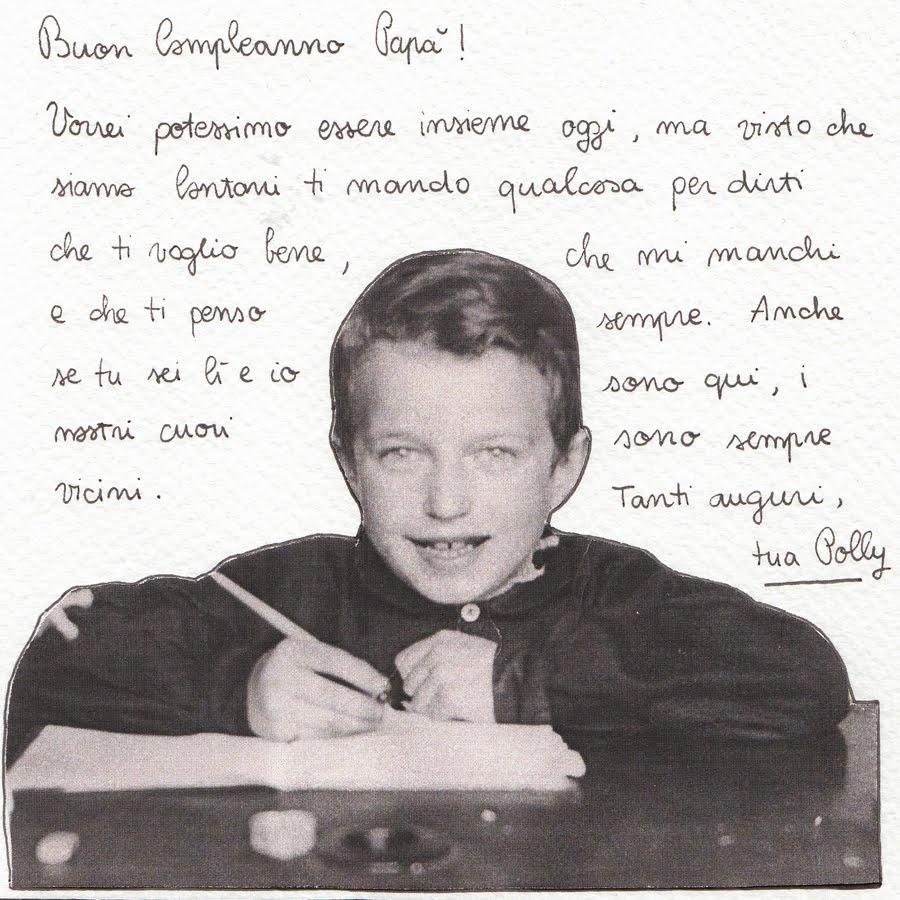 Amato Passer Domesticus: buon compleanno papà. IH58