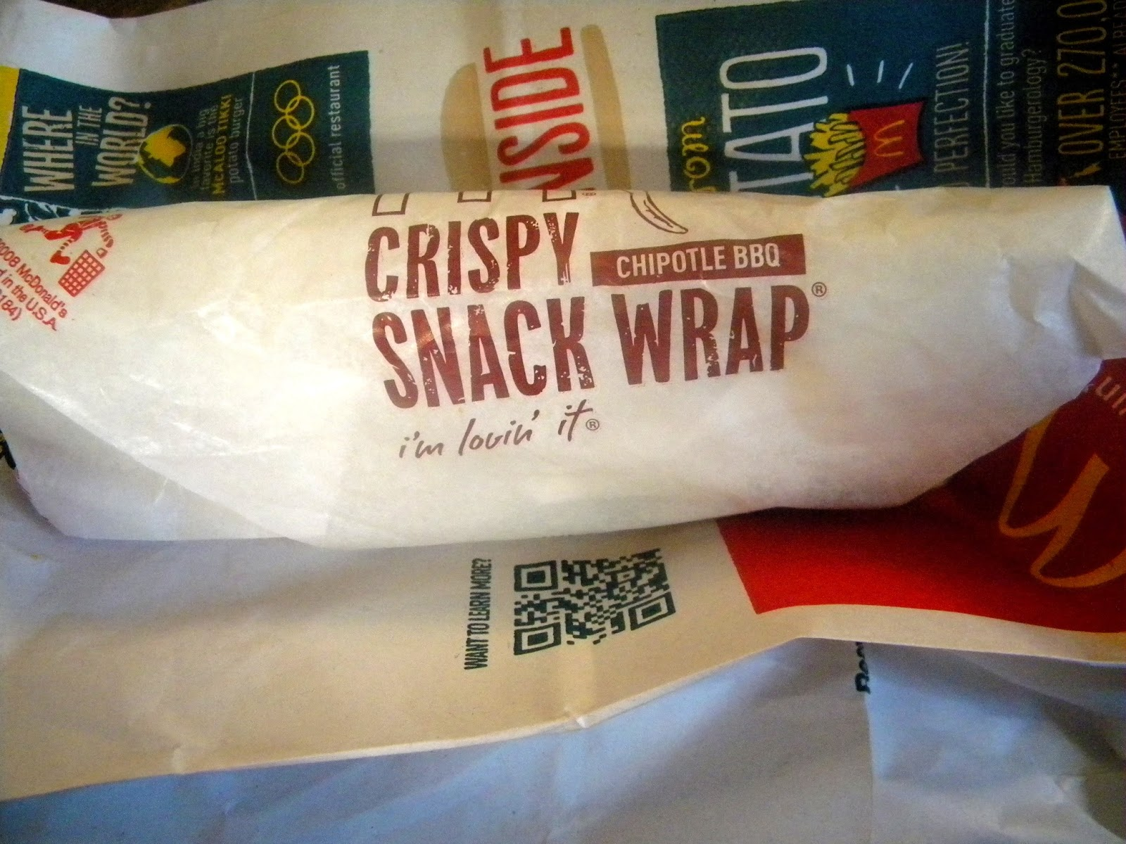 McDonald's ChickenChipotleWrap photo/editing by sookietex